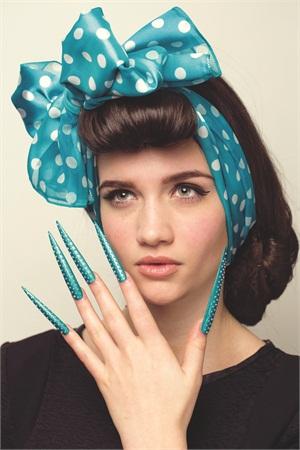 <p>Photographic Nail Art, 2nd Place: Samantha Grant</p>
