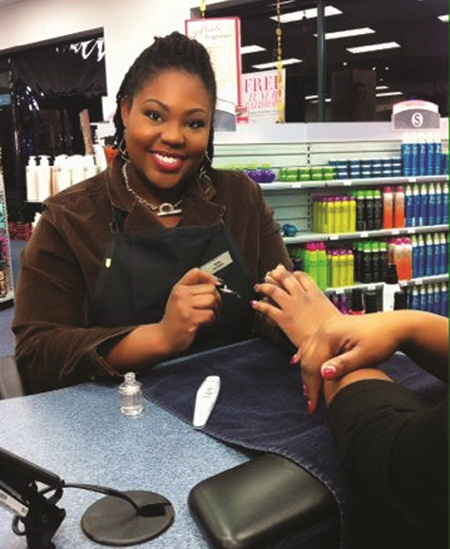 <p>Thanks to an OPI scholarship, Charise Hunt was able to realize her dream of doing nails as a full-time career.</p>
