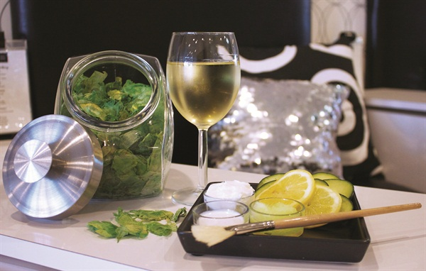 The very popular Mojito Pedicure is a mint soak with essential oils and fresh-cut cucumbers.