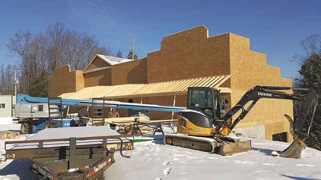 <p>Rebuilding is underway.</p>