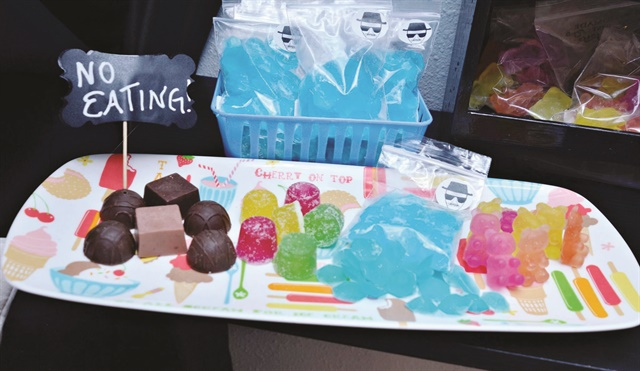 Salon owners Horner and Melendez frequent local craft fairs to find the best sweet-themed spa products for their customers. Can you believe these are soaps?