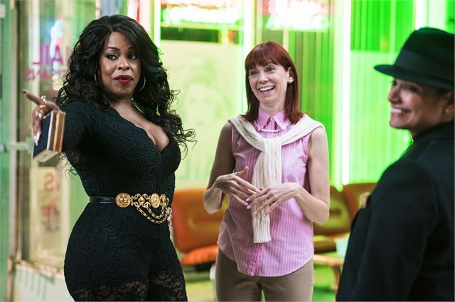 "Niecy Nash, Carrie Preston, and Judy Reyes star in ""Claws."""
