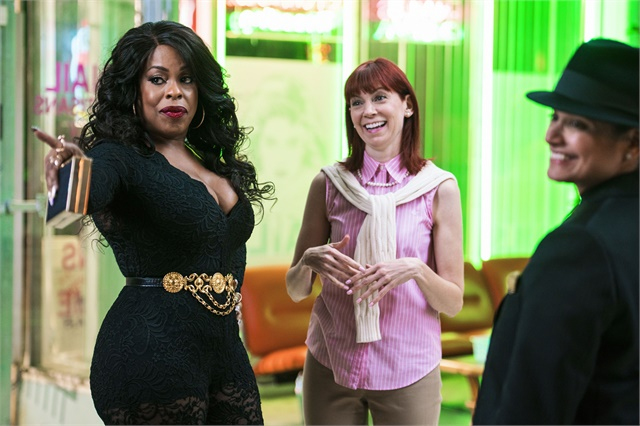 "<p>Niecy Nash, Carrie Preston, and Judy Reyes star in ""Claws.""</p>"