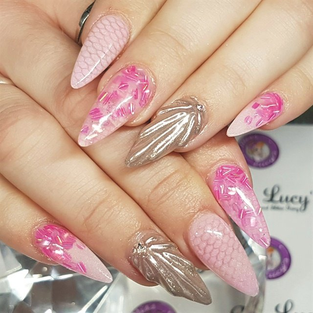 The Art of Acrylic Nail Art Designs - Style - NAILS Magazine