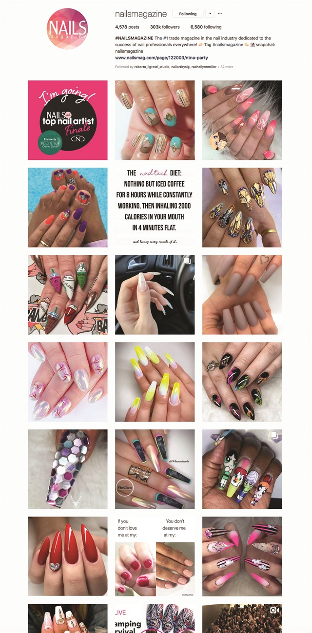 "<p>See more on Instagram <a href=""https://www.instagram.com/nailsmagazine/"">@nailsmagazine</a></p>"