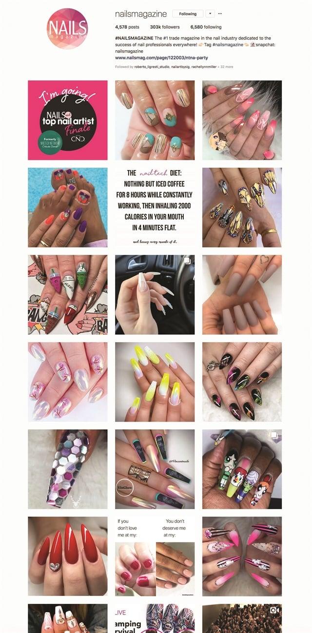 "<p>See more on Instagram <a href=""https://www.instagram.com/nailsmagazine/"">@nailsmagazine</a></p>"