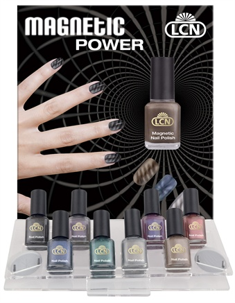 Lcn Magnetic Nail Polish Is An Exceptional That Will Tantalize Ers With The Help Of A Magnet Metal Particles In Perform