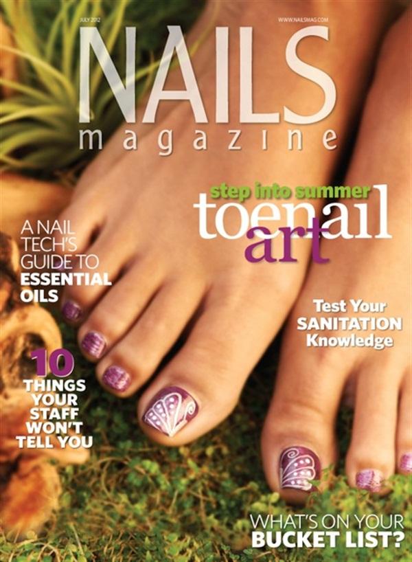 TBT: Toenail Art - - NAILS Magazine