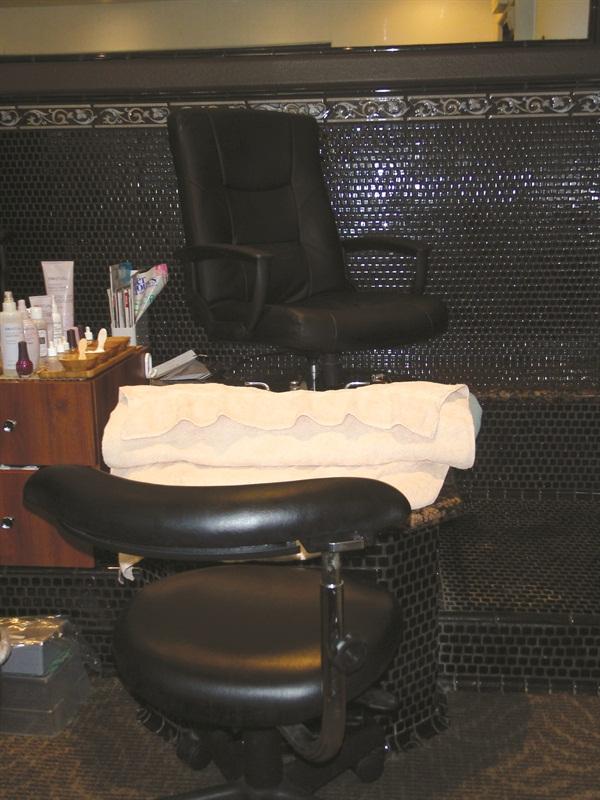 <p><em>Services begin with aromatherapy t</em>o<em> induce calm</em>.</p>