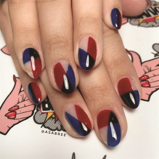 <p>Nails by Asa Bree Sieracki (@asabree)</p>