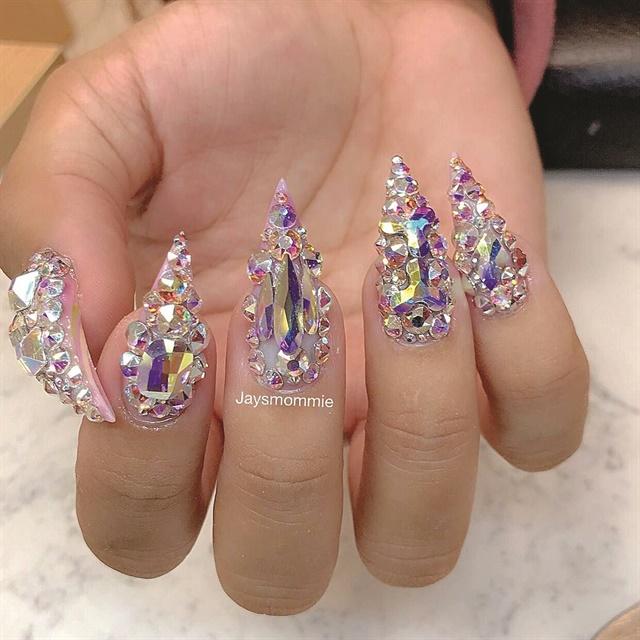 Nails by Reina Seegobin (@jaysmommie)