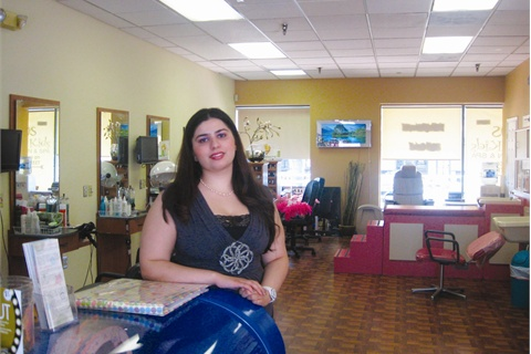 "Eclips Kids is a full-service kids-only salon for clients up to the age of 15. ""We have double the pressure, because we have to satisfy both the kids and their parents,"" says co-owner Imra Jauhar."
