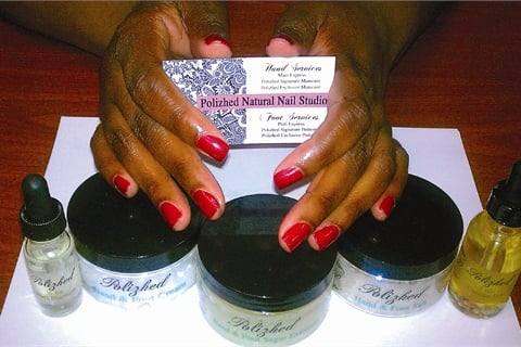 Polizhed Products Come From The Natural Nail Studio In South Euclid Ohio Where Owner Brittany Foster Sells Her Custom Manicure And Pedicure