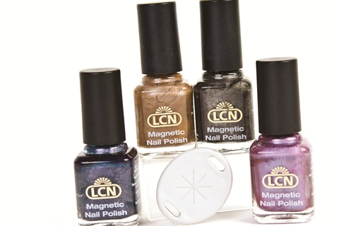 "<p class=""NoParagraphStyle"">Magnetic nail polishes have caught on with consumers.</p>"