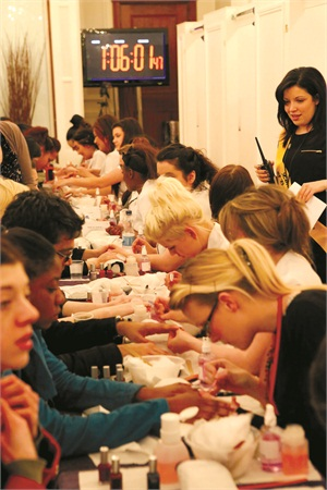 Nail Technician easy careers to study in college