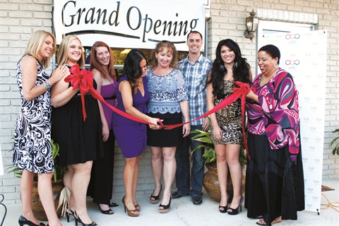 "<p class=""NoParagraphStyle"">When Unity Nails and Skin Care moved into its current location in April 2012, salon owner Jeany Perez hosted a grand reopening. She is pictured above cutting the red ribbon, which signifies that the salon is once again open for business!</p>"