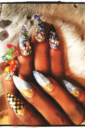 Just look at that a pictures worth 1000 words when it comes to a pictures worth 1000 words when it comes to nails style nails magazine reheart Gallery
