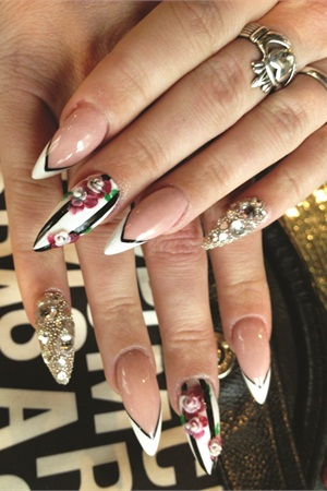Just look at that a pictures worth 1000 words when it comes to a pictures worth 1000 words when it comes to nails prinsesfo Choice Image