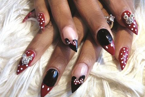 Just look at that a pictures worth 1000 words when it comes to mark and her colleagues at wild orchid nail salons wildorchidnails provide thousands of photos of nail art of different types shapes prinsesfo Image collections