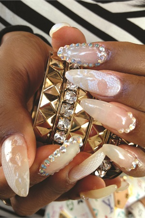Just look at that a pictures worth 1000 words when it comes to to make it easy for clients to opt for those unusual shapes and designs that are so much fun to create mark and her colleagues at wild orchid nail salons prinsesfo Choice Image