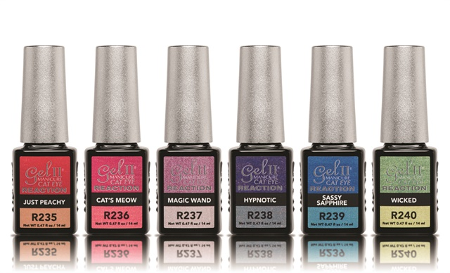 Gel Ii S Magnetic Cat Eye Reaction Polish Lets You Create Fierce Nail Designs With That Also Changes Color