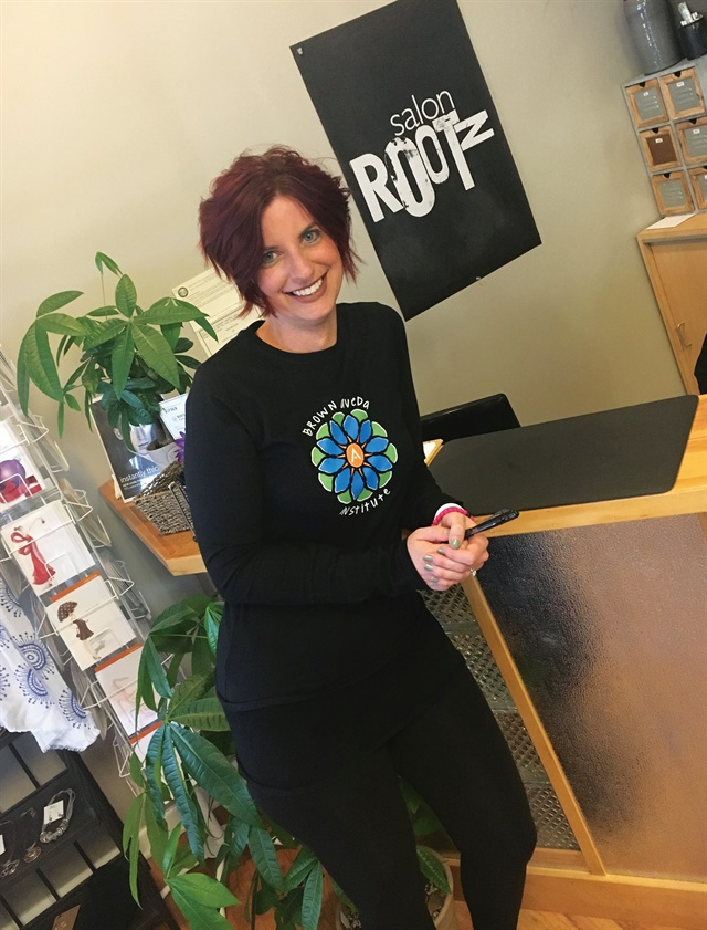 <p>Salon Rootz director of marketing Jennifer LeBlanc calls clients each morning to fill open slots with add-ons.</p>