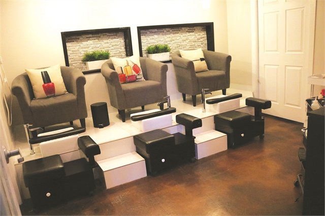"""<p>The pedicure services are all named after Prince songs: """"Uptown,"""" """"Pink Cashmere,"""" and """"Pop Life.""""</p>"""