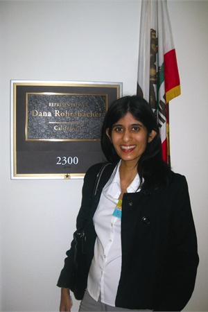 We also got to meet with the staff of Rep. Dana Rohrabacher, who is the representative for my home district in Long Beach.