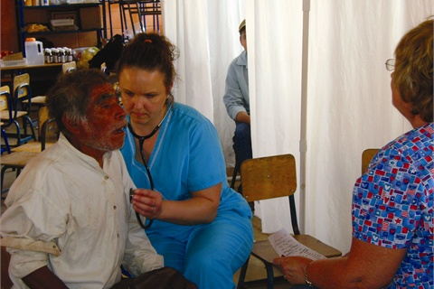 The medical team provided desperately needed care for residents of remote mountain regions of Guatemala.