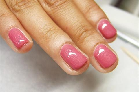 Жесткий гель для ногтей