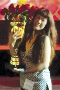 <p>Erina Ogawa wins the Nailpro Cup at IBS Las Vegas. </p>
