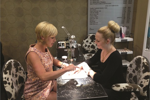 <p>Kim Herman, nail technician and owner of Posh Nails in Denver, currently has 300 active members signed up for her loyalty program.</p>