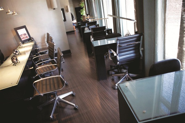 "<p>Clients are encouraged to ""experience a higher standard"" at Nails and Co. in a relaxing environment</p>"