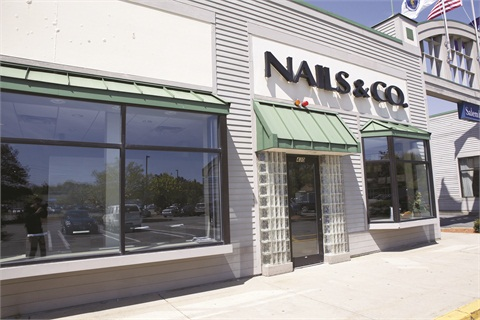 Nails & Co. operates at six locations in Massachusetts.
