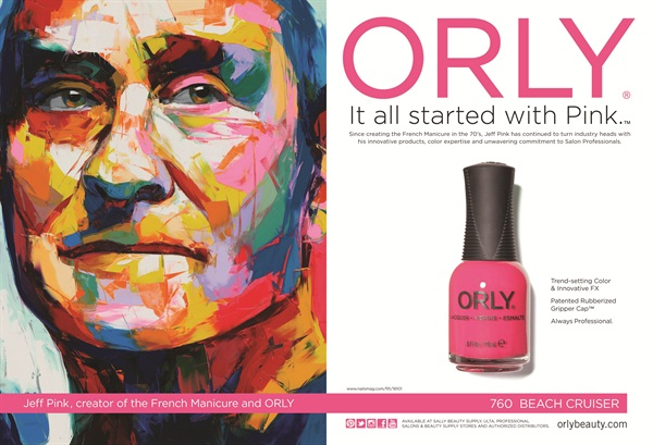 Orlys It All Started With Pink Campaign Won This Years ICMAD Cosmetic Innovator Of The Year CITY Award For Marketing Advertising Innovation Print Ad