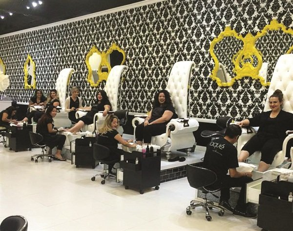 <p>Laqué nail technicians are getting primped and pampered for a special event.</p>