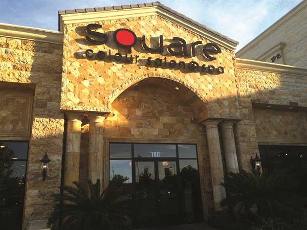 <p>Square has been so successful that it recently expanded into the salon next door, Atelier by Square Salon, that specializes in hair.</p>