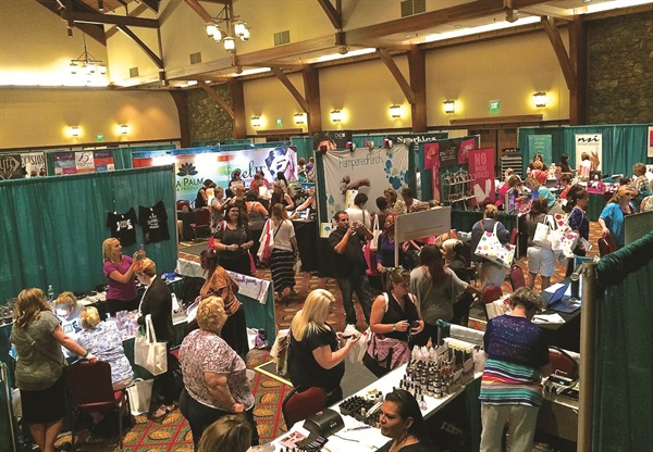 The 2014 Nail Tech Event of the Smokies hosted 32 nail companies and 355 attendees.
