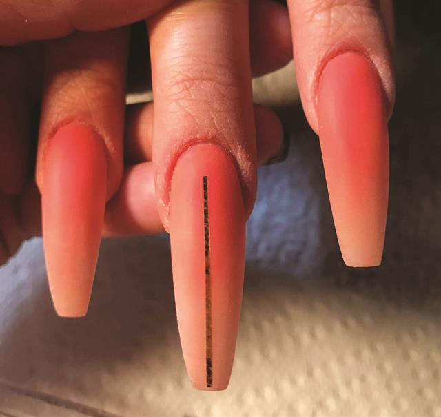 Peach Ombre Nail Art Tutorial Style Nails Magazine