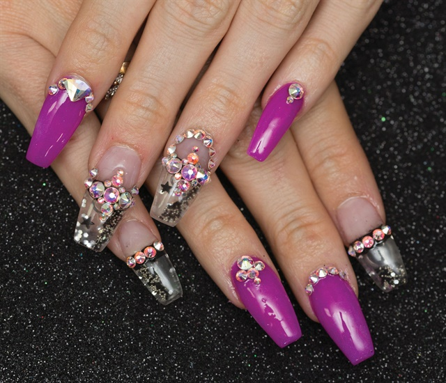 Nails by Tina Zubiate @tinatupac; Photography by Ariana Gillham @arianacoralphotography