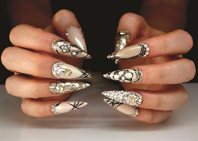Hybrid Hibiscus Nail Art Tutorial Style Nails Magazine