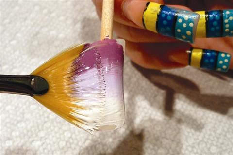 Кистью рисунок на ногтях в домашних условиях для начинающих