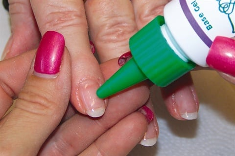 Gel Over The Entire Nail