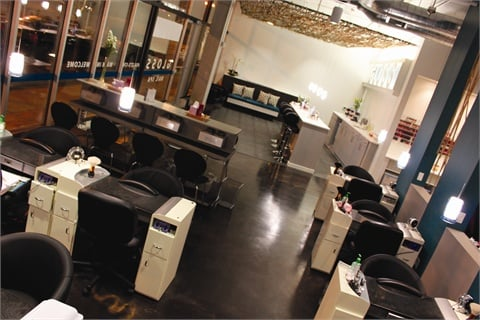 Appointments make up 90% of the customers, a drastic change from when Nguyen opened the salon in March 2010 as a walk-in only establishment.
