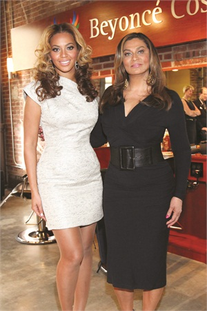 <p>Beyoncé and her mother Tina Knowles founded the Beyoncé Cosmetology Center at Phoenix House, a substance abuse treatment facility.</p>