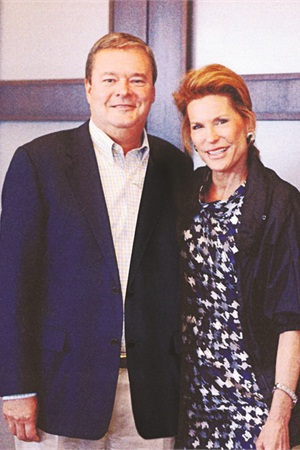 """<p class=""""NoParagraphStyle"""">Sally Beauty Holdings president and CEO Gary Winterhalter poses with Susan G. Komen founder Nancy Brinker.</p>"""