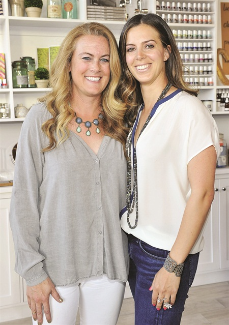Mary Lennon (left) and Leah Yari created Côte in an effort to focus on the client experience.