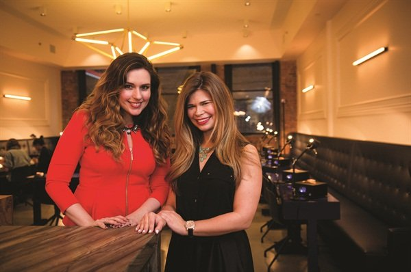 <p>Paintbox founder Eleanor Langston (left) turns the typical nail salon visit into a chic collaborative experience. Creative director Julie Kandalec (right) translates runway trends into wearable styles.</p>
