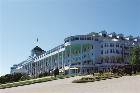 <p>Mackinac Island's fairytale setting is perfect for weddings; bridal parties comprise the majority of 7th Heaven Spa and Salon's clientele. Many of those weddings are on the grounds of the Grand Hotel.</p>
