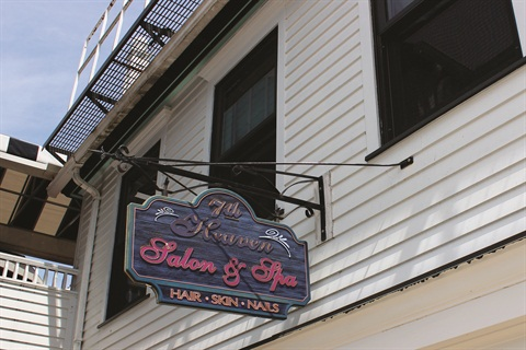 <p>7th Heaven Salon & Spa has two locations on Mackinac Island.</p>